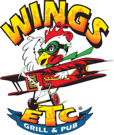 Wings Etc. logo.